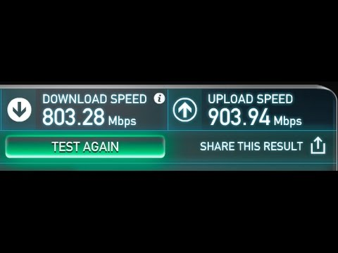 Fastest Internet Speed (In Vancouver)