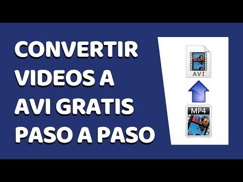 🔴 Cómo Convertir Vídeos a AVI Sin Programas 2021