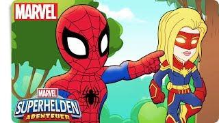 MARVEL SUPERHELDEN ABENTEUER - Ein interplanetarisches Missverständnis! | Marvel HQ Deutschland