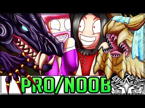 THE ULTIMATE DINNER PARTY - Pro And Noob VS Monster Hunter World Iceborne! #iceborne #proandnoob