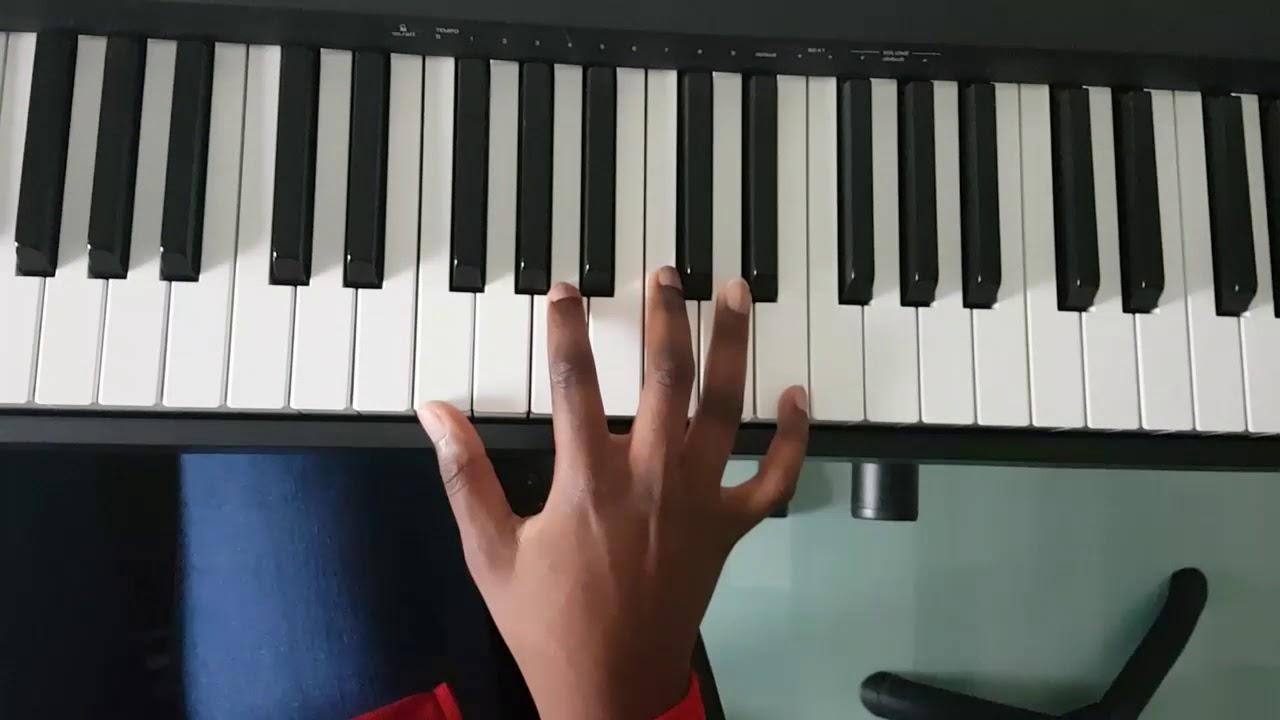 Tom misch - Movie (piano chords)