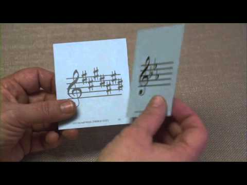 Complete Reading Flash Cards: Key Signatures