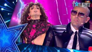 Este concursante REVIVE en su surrealista actuación | Semifinal 04 | Got Talent España 2021