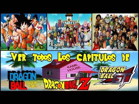 """Como Ver Todos Los Capítulos de Dragón Ball Z,GT,KAI  (Audio Latino) """"2016"""""""