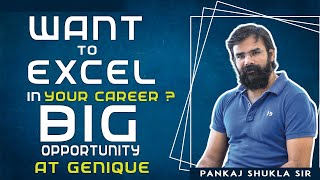 Download lagu Want to Excel in Your Career I Big Opportunity at Genique I Be the Part of Genique JE - AE Study