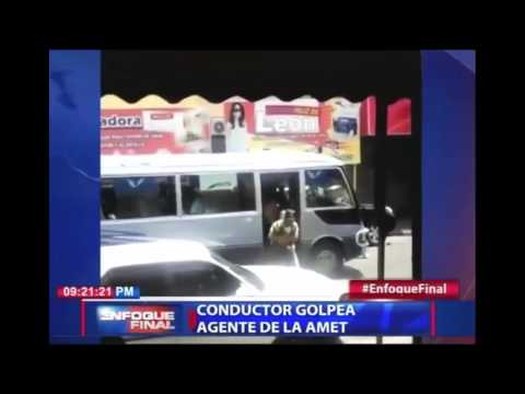 Dominican Republic News 2016 | Shots fired in confrotation of bus driver and traffic officer