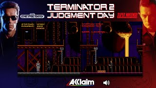 Terminator 2: Judgment Day | Mega Drive/Genesis & SNES - Comparison/ Dual Playthrough