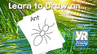 Teaching Kids How to Draw: How to Draw an Ant