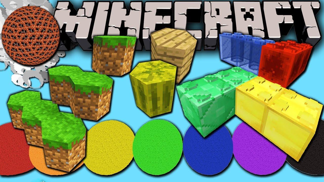 Minecraft 1 8 Snapshot: Lego, Hexagon, Sphere & Man-Cactus? Easy Custom  Block Model Resource Packs!