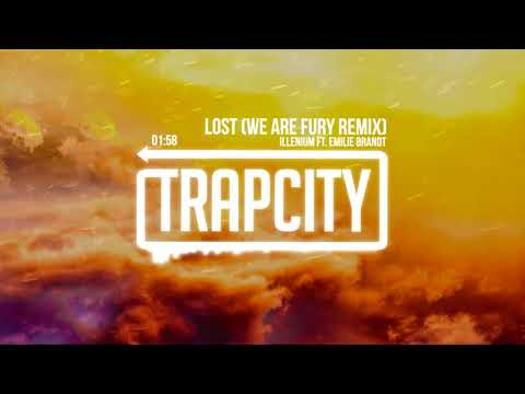 Illenium ft. Emilie Brandt - Lost (WE ARE FURY Remix) [Lyrics]