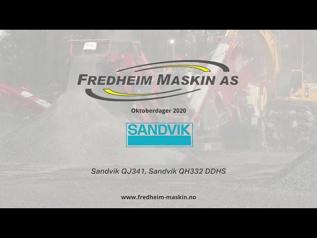 Sandvik QJ341 och QH332DDHS
