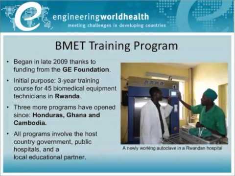 Engineering World Health: Building technical capacity in resource-poor hospitals