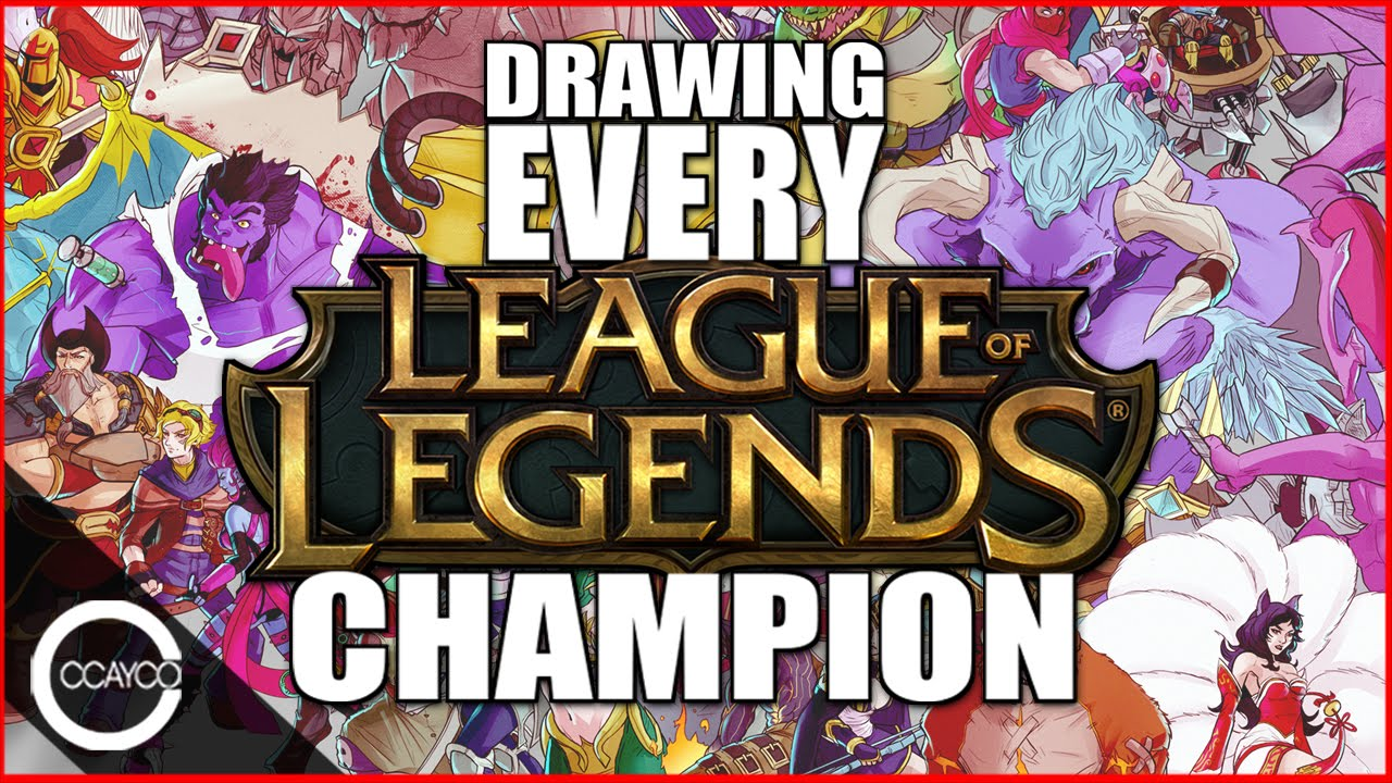 Drawing Every League Of Legends Champion