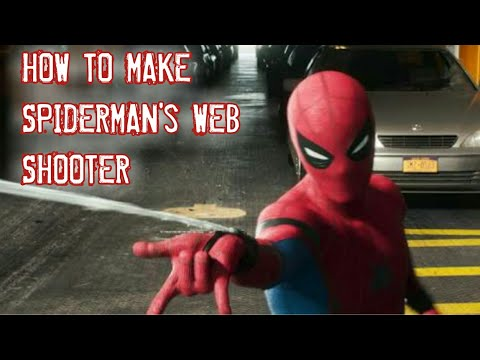 How to make web shooter easy DIY working 100%