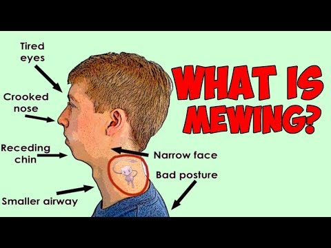 What is MEWING? How To Mew And How It Can Change Your Face - YouTube
