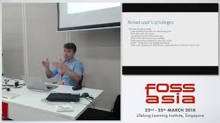 Database Security for Developers - Ilya Verbitskiy - FOSSASIA 2018