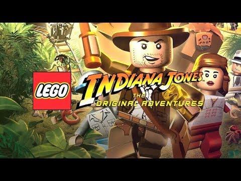 Индиана джонс мультфильм лего