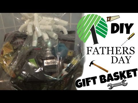 DIY DOLLAR TREE **FATHERS DAY GIFT BASKET!!! SIMPLE & AFFORDABLE