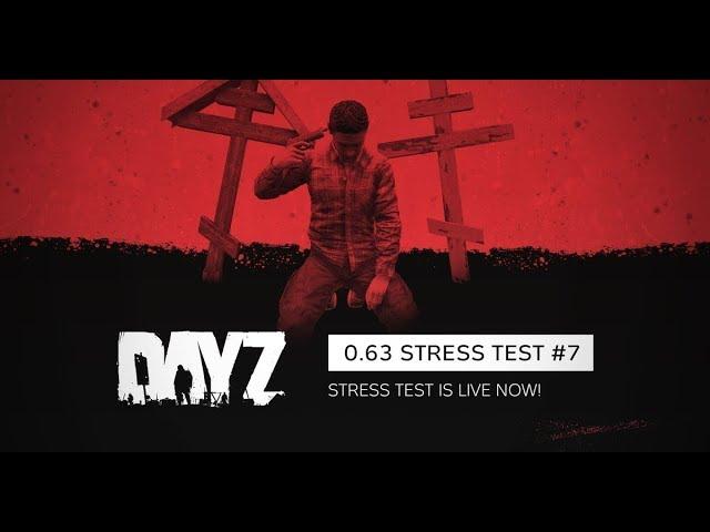 DayZ 0.63 Stress Test 7 (full map + Z + multi)