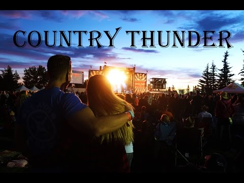 COUNTRY THUNDER MUSIC FESTIVAL CANADA