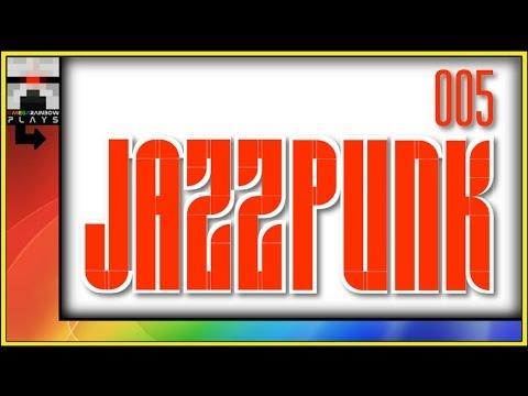 Ω Let's Play JazzPunk 005 [HD] - Let's Play with OmegaRainbow