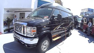 2016, 2017 Ford E350 Business Mod, luxury Motorhome, XLT Super Duty Passenger VAN