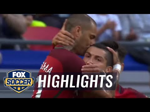 Ricardo Quaresma scores for Portugal vs. Mexico | 2017 FIFA Confederations Cup Highlights