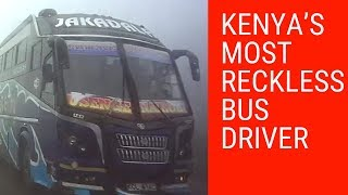 Is this Kenya's most reckless bus driver?
