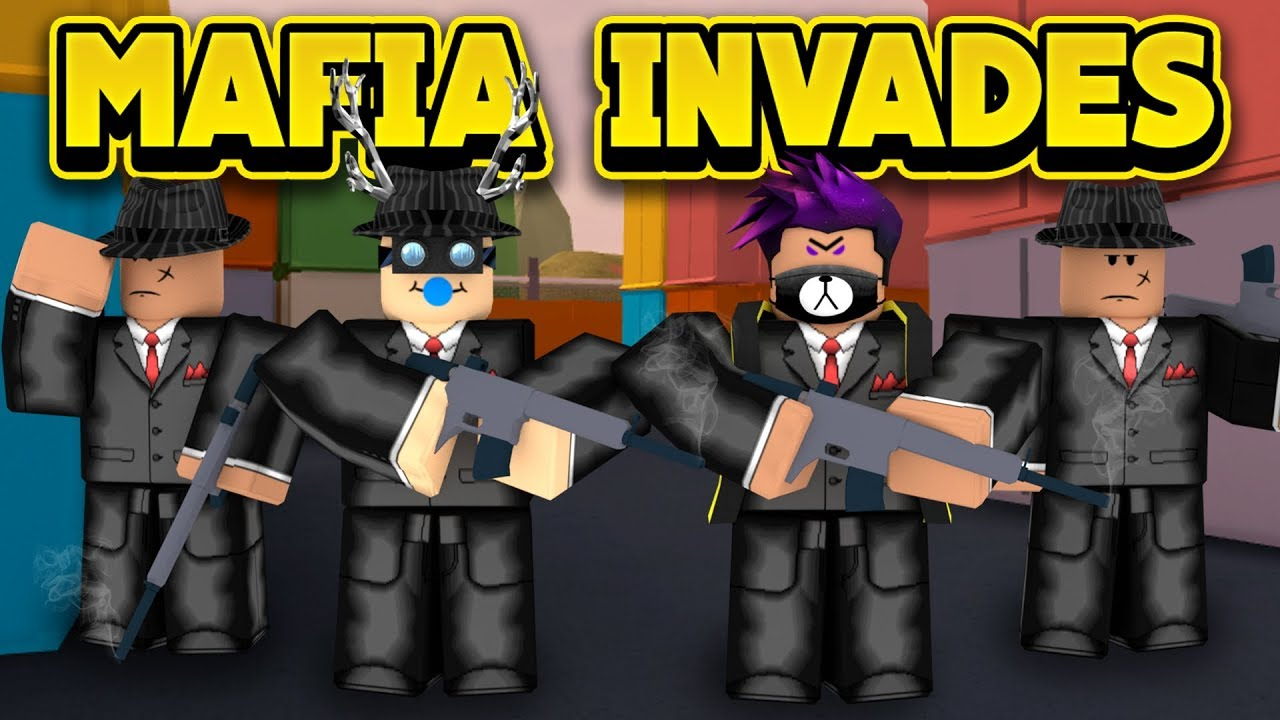 Roblox Jailbreak By Napkinnate The Mafia Invades Jailbreak Roblox Jailbreak Youtube
