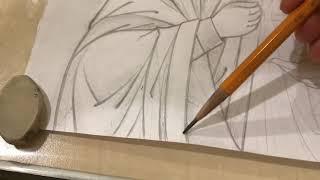 ИКОНОПИСЬ. Секреты написания Иконы. Уроки по Иконописи ( прорись )