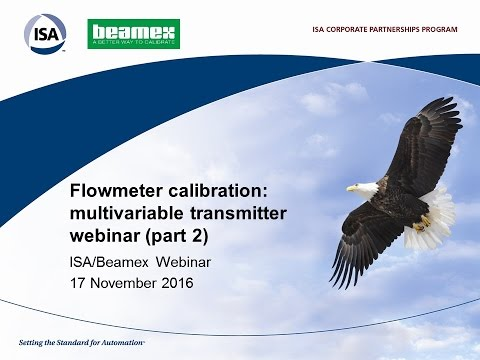 Flowmeter calibration: multivariable transmitter webinar (part 2)