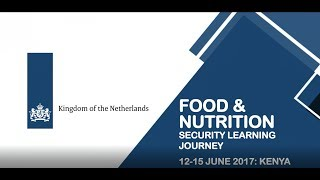Food security learning journey in Kenya (June 2017)