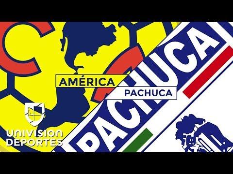 Pachuca le amarga la tarde al América con un empate en los últimos minutos