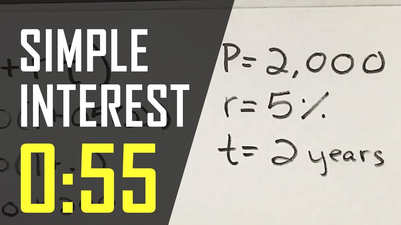 How to: Calculate Simple Interest