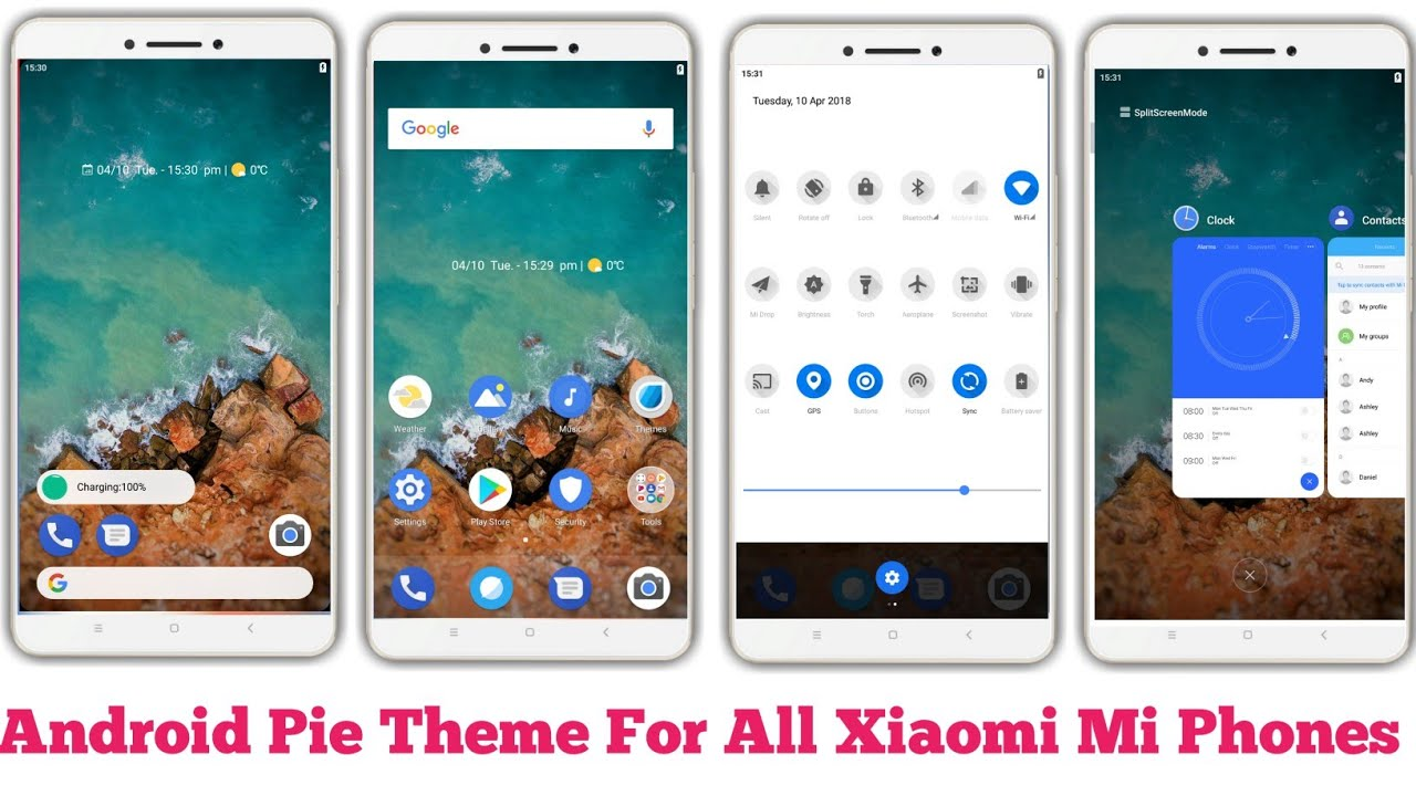 Download Android Pie Theme For Mi Xiaomi Phone | Download Android Pie Theme  for Mi Phones