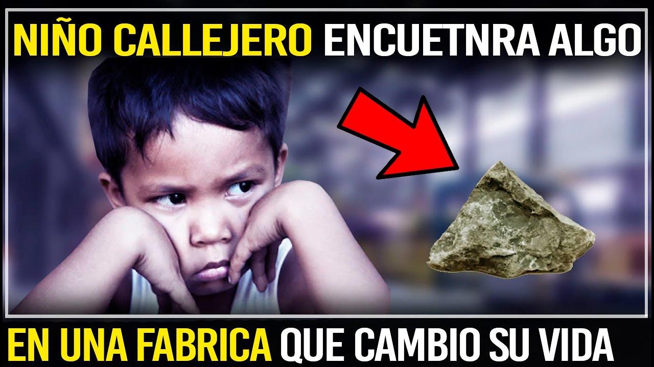 Niño Callejero Encuentra Algo Extraño En Una Fábrica No Sabia Que Después Le Hará Millonario