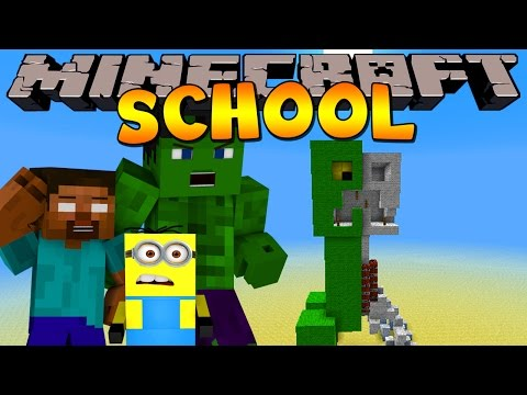 Minecraft School : HOW TO MAKE A CREEPER