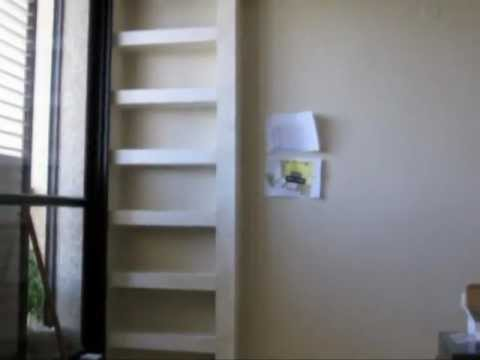 Diy Shelves In Living Room Best Paint Colors For Rooms Plaster The Youtube