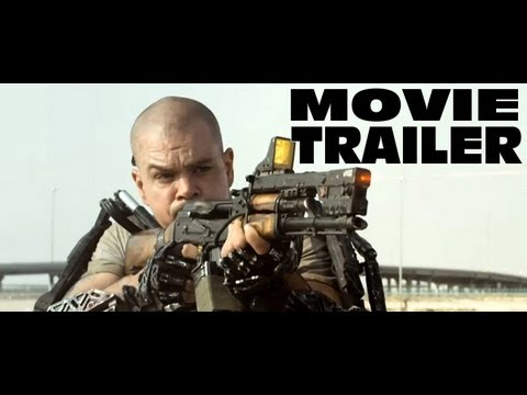 Elysium Official Movie Trailer Review - YouTube