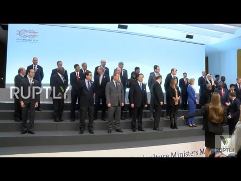 Germany: G20 Agriculture ministers meet in Berlin