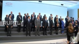Germany  G20 Agriculture ministers meet in Berlin