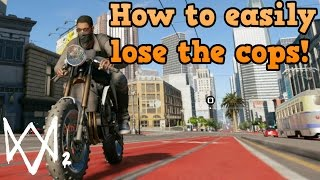 Watch_dogs 2 guides - How to easily escape the police