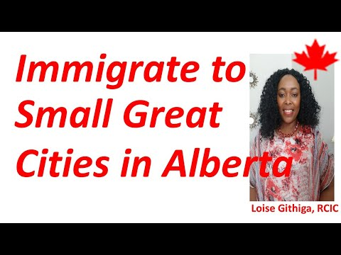 Great Small Cities Or Towns To Settle In Alberta Canada