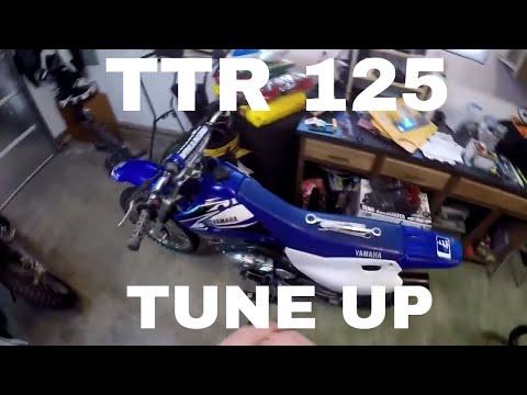 ttr 125 dirt bike tune up