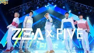 【TVPP】ZE:A FIVE- The day we broke up, 제아 파이브 - 헤어지던 날 @ Comeback Stgae, Show! Music Core Live