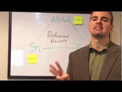 9 Three Secrets to Professional Presence - YouTube