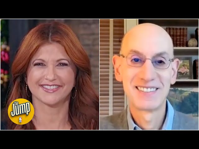 Adam Silver talks possible expansion & the NBA\'s plans for the All-Star Game | The Jump