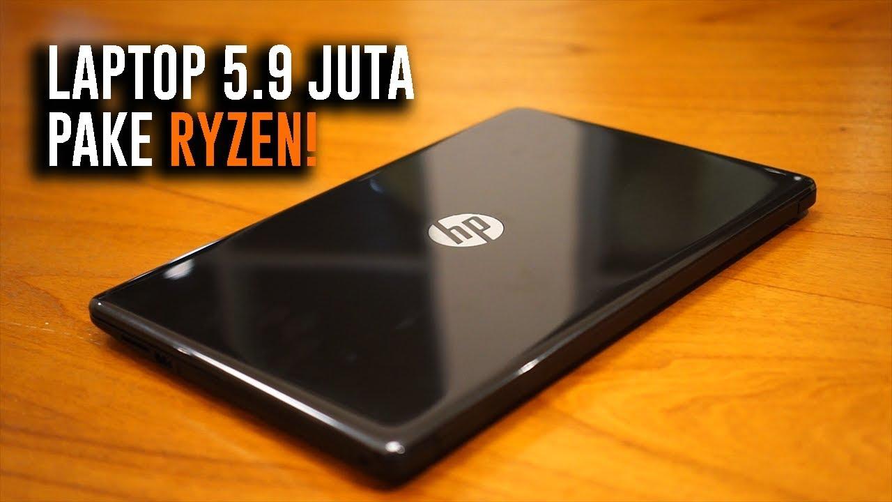 Laptop Murah Amd Udah Bagus Hp 15 Ryzen 3 2200u Youtube