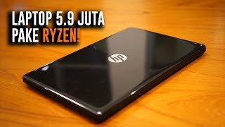 Laptop Murah AMD Udah BAGUS? -  HP 15 (Ryzen 3 2200U)