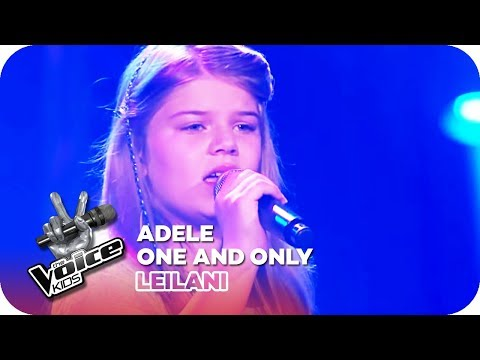 Adele - One and Only Leilani  Blind Auditions  The Voice Kids   SAT1